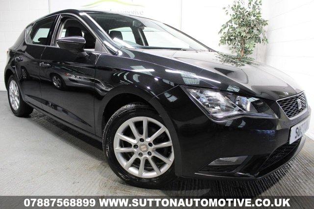 2013 63 SEAT LEON 1.6 TDI SE 5d 105 BHP