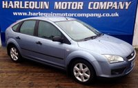 USED 2005 55 FORD FOCUS 1.8 SPORT TDCI 5d 114 BHP VERY TIDY EXAMPLE FORD FOCUS TURBO DIESEL SPORT 5 DOOR MANUAL IN METALLIC COSMOPOLITAIN BLUE ALLOYS AIR CON SERVICE HISTORY INC CAM BELT HISTORY MUST BE SEEN