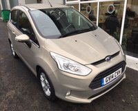 USED 2014 14 FORD B-MAX 1.0 ZETEC ECOBOOST 100 BHP THIS VEHICLE IS AT SITE 2 - TO VIEW CALL US ON 01903 323333
