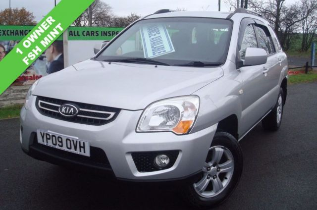 2009 09 KIA SPORTAGE 2.0 XE CRDI 5d 138 BHP ONE OWNER FULL SERVICE HISTORY