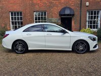 USED 2017 67 MERCEDES-BENZ CLA  CLA 180 AMG Line 4d AUTO DELIVERY MILES