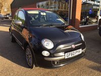USED 2010 60 FIAT 500 1.4 C BY DIESEL 3 DOOR 99 BHP IN MET GREY WITH ONLY 27000 MILES. APPROVED CARS ARE PLEASED TO OFFER THIS  FIAT 500 1.4 C BY DIESEL 3 DOOR 99 BHP IN MET GREY WITH ONLY 27000 MILES IN STUNNING CONDITION INSIDE AND OUT WITH A GREAT SPEC INCLUDING 1/2 LEATHER INTERIOR,ALLOYS AND MUCH MORE THIS POPULAR LIMITED EDITION MODEL BY( DIESEL) IS THE IDEAL CONVERTIBLE CAR WITH A FULL SERVICE HISTORY AND A VERY LOW MILEAGE.