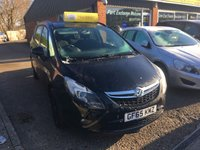USED 2015 65 VAUXHALL ZAFIRA TOURER 1.8 EXCLUSIV 5d 138 BHP IN BLACK WITH BLACK ALLOYS NEW SHAPE. APPROVED CARS ARE PLEASED TO OFFER THIS  VAUXHALL ZAFIRA TOURER 1.8 EXCLUSIV 5 DOOR 138 BHP IN BLACK WITH BLACK ALLOYS A STUNNING LOOKING 7 SEATER ZAFIRA WITH A LOW MILEAGE AND A FULL SERVICE HISTORY AND ONLY ONE PRIVATE OWNER.