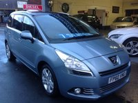 USED 2010 60 PEUGEOT 5008 1.6 HDI EXCLUSIVE  7 SEATER 7 SEATER.......One Owner.....Panoramic Roof