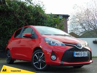 USED 2015 65 TOYOTA YARIS 1.3 VVT-I SPORT M-DRIVE S 5d AUTOMATIC * 128 POINT AA INSPECTED *
