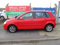 USED 2007 07 VOLKSWAGEN POLO 1.4 S 5d 79 BHP 11 Stamps Of Service History . 1 Former Keeper . New Mot & Full service Done On Collection . 2 Years Free Mot & Full Service Included With This Car . 3 Month's Warranty  . Owners Book Pack . Finance Arranged - Credit Card's Accepted . Well Maintained Car , Local Owned Car. Cambelt Replaced @58k .