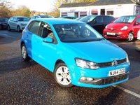 USED 2014 64 VOLKSWAGEN POLO 1.0 SE 5d 60 BHP SAT NAV ONE Owner FULL Service History