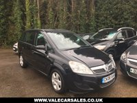 2008 VAUXHALL ZAFIRA 1.6 EXCLUSIV 5 dr 7 SEATER £2490.00