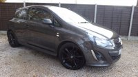 USED 2013 13 VAUXHALL CORSA 1.2 LIMITED EDITION 3dr Cruise, 1 Owner, Privacy