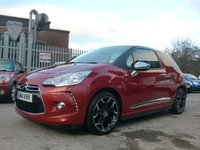 USED 2014 14 CITROEN DS3 1.6 E-HDI AIRDREAM DSPORT PLUS 3d 111 BHP 1 OWNER FROM NEW FREE ROAD TAX