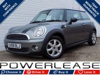 2009 MINI HATCH ONE 1.4 ONE GRAPHITE 3d 94 BHP £4204.00