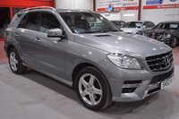 USED 2012 62 MERCEDES-BENZ M CLASS 2.1 ML250 BLUETEC SPORT 5d AUTO 204 BHP