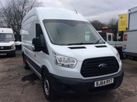 USED 2014 64 FORD TRANSIT LWB 2.2 350 H/R P/V 124 BHP 1 OWNER FSH NEW MOT  FREE 6 MONTH AA WARRANTY, RECOVERY AND ASSIST NEW MOT ELECTRIC WINDOWS SPARE KEY 6 SPEED