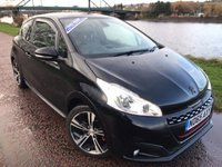 2015 PEUGEOT 208 1.6 THP GTI PRESTIGE 3d 208 BHP £11490.00