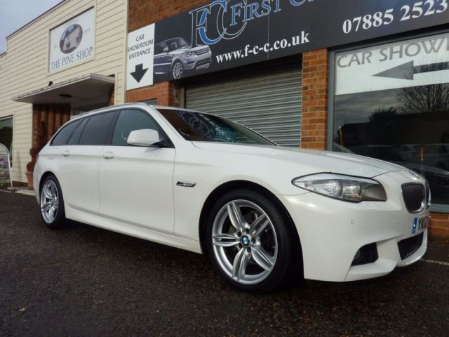 2012 12 BMW 5 SERIES 2.0 520D M SPORT TOURING 5d AUTO 181 BHP