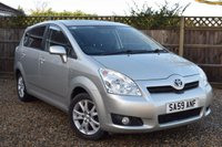 USED 2009 59 TOYOTA COROLLA 1.8 VERSO SR VVT-I 5d 128 BHP Free 12  month warranty