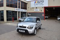 USED 2013 13 KIA SOUL 1.6 2 5d 138 BHP AIR CON PETROL MANUAL HATCHBACK CAR TWO OWNER LOW MILEAGE CAR