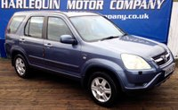 USED 2004 04 HONDA CR-V 2.0 I-VTEC EXECUTIVE 5d AUTO 148 BHP