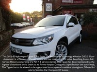 USED 2012 62 VOLKSWAGEN TIGUAN 2.0 SPORT TDI BLUEMOTION TECHNOLOGY 4MOTION DSG 5d AUTO 138 BHP