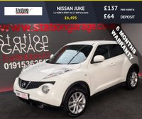 USED 2011 60 NISSAN JUKE 1.6 ACENTA SPORT 5d 117 BHP bluetooth SERVICE HISTORY AND JUST SERVICED BY US.