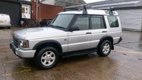 USED 2003 03 LAND ROVER DISCOVERY 2.5 TD5 GS 5STR 5d 136 BHP NO VAT TO ADD PART X