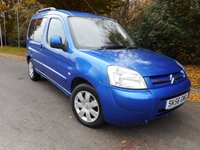 2006 CITROEN BERLINGO 1.6 MULTISPACE XTR HDI 5d 89 BHP £2750.00