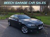2011 BMW 5 SERIES 2.0 520D SE 4d AUTO 181 BHP £10995.00