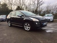 USED 2009 59 PEUGEOT 3008 1.6 EXCLUSIVE HDI 5d 110 BHP NO DEPOSIT  FINANCE ARRANGED, APPLY HERE NOW