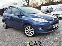 USED 2009 59 FORD FIESTA 1.2 ZETEC 5d 81 BHP 2 PREVIOUS OWNERS + AUX