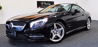 2014 MERCEDES-BENZ SL 3.5 SL350 2d AUTO 306 BHP £SOLD