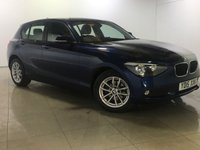 USED 2015 15 BMW 1 SERIES 2.0 118D SE 5d 141 BHP SAT NAV / A/C
