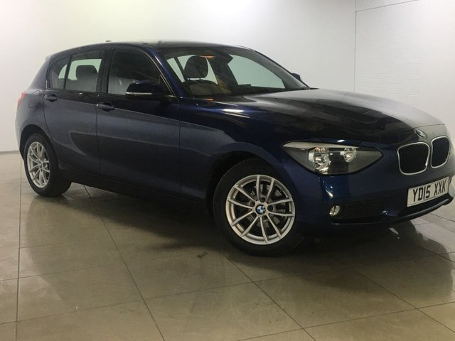 View our 2015 15 BMW 1 SERIES 2.0 118D SE 5d 141 BHP