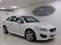 USED 2010 10 VOLVO C30 1.6 R-DESIGN 3d 100 BHP Superb, Full Service History, 12 Months MOT, Leather