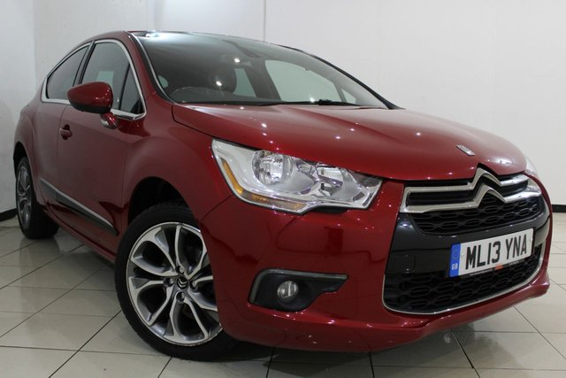 View our 2013 13 CITROEN DS4 1.6 HDI DSTYLE 5DR 115 BHP