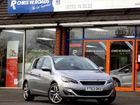 USED 2014 63 PEUGEOT 308 1.6 E-HDI ALLURE 5dr *Sat Nav & Pan Roof* *ONLY 9.9% APR with FREE Servicing*