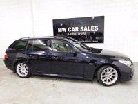 USED 2008 08 BMW 5 SERIES 3.0 530D M SPORT TOURING 5d AUTO 232 BHP