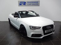 2015 AUDI A5 2.0 TDI S LINE SPECIAL EDITION PLUS 2d 175 BHP £20000.00