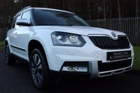 2015 SKODA YETI 2.0 OUTDOOR LAURIN AND KLEMENT TDI SCR 5d 148 BHP £14500.00