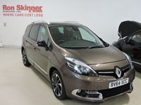USED 2014 64 RENAULT SCENIC 1.6 GRAND DYNAMIQUE TOMTOM BOSE PLUS DCI S/S 5d 130 BHP
