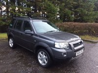 USED 2004 04 LAND ROVER FREELANDER 2.0 TD4 HSE STATION WAGON 5d 110 BHP