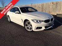 2014 BMW 4 SERIES 2.0 420I XDRIVE M SPORT 2d AUTO 181 BHP £17985.00