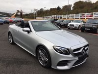 USED 2017 67 MERCEDES-BENZ E CLASS 2.0 E 300 AMG LINE PREMIUM PLUS 2d AUTO 241 BHP Or Retail £53,625 with very high spec & under 1,500 miles