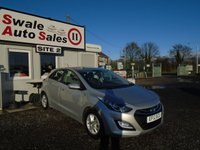 USED 2012 12 HYUNDAI I30 1.4 ACTIVE 5d 98 BHP £29 PER WEEK NO DEPOSIT - SEE FINANCE LINK BELOW