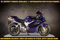 USED 2004 04 HONDA VFR800F 800CC 0% DEPOSIT FINANCE AVAILABLE GOOD & BAD CREDIT ACCEPTED, OVER 500+ BIKES IN STOCK