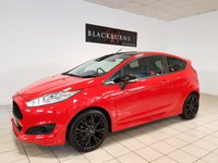 2015 FORD FIESTA 1.0 ZETEC S RED EDITION 3d 139 BHP £9450.00