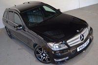 2012 MERCEDES-BENZ C CLASS 2.1 C220 CDI BLUEEFFICIENCY AMG SPORT PLUS 5d AUTO 168 BHP £13000.00
