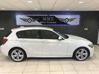 2015 BMW 1 SERIES 2.0 116D M SPORT 5d 114 BHP