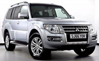 2016 MITSUBISHI SHOGUN 3.2 DI-DC SG3 5dr (LWB) Auto £25495.00