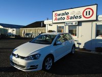 2015 VOLKSWAGEN GOLF 1.4 MATCH TSI BLUEMOTION TECHNOLOGY 5d 120 BHP £12995.00