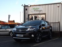 USED 2014 14 TOYOTA RAV4 2.0 D-4D ICON 5d 124 BHP Full Service History, Long mot and great looking Rav-4 with nice spec